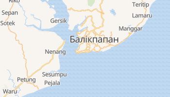 Балікпапан - детальна мапа