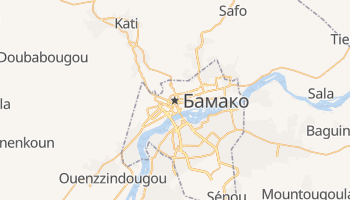 Бамако - детальна мапа