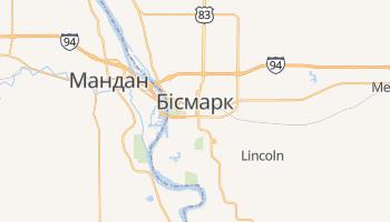 Бісмарк - детальна мапа
