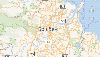 Брісбен - детальна мапа