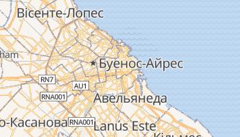 Буенос-Айрес - детальна мапа