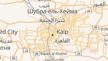 Каїр - детальна мапа