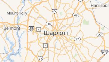 Шарлот - детальна мапа