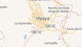 Чіуауа - детальна мапа