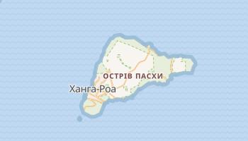 Острів Пасхи - детальна мапа