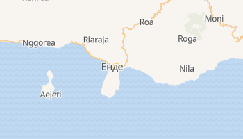 Енде - детальна мапа