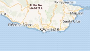 Фуншал - детальна мапа