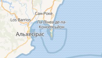 Ґібралтар - детальна мапа