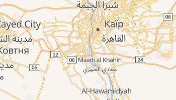 Ґіза - детальна мапа