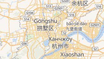 Ханчжоу - детальна мапа