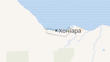 Хоніара - детальна мапа