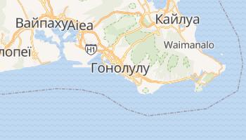 Гонолулу - детальна мапа