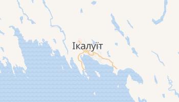 Ікалуіт - детальна мапа