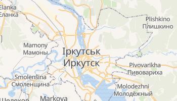 Іркутськ - детальна мапа
