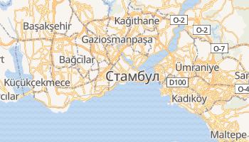 Стамбул - детальна мапа