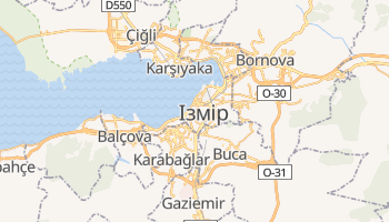 Ізмір - детальна мапа