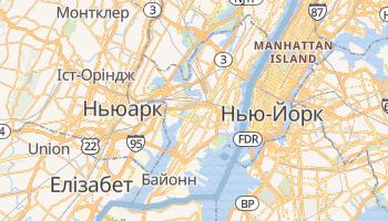 Джерсі-Сіті - детальна мапа