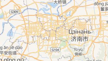 Цзинан - детальна мапа