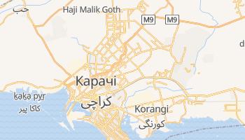 Карачі - детальна мапа