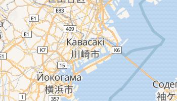 Кавасакі - детальна мапа