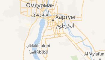Хартум - детальна мапа