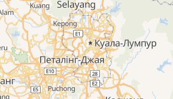 Куала-Лумпур - детальна мапа