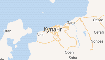 Купанг - детальна мапа