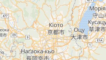 Кіото - детальна мапа