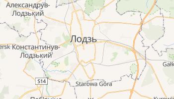 Лодзь - детальна мапа