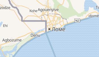 Ломе - детальна мапа