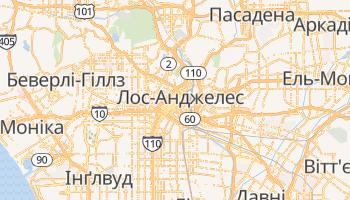Лос-Анджелес - детальна мапа