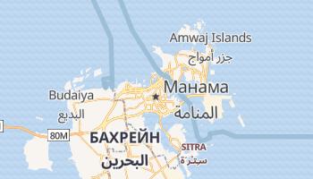 Манама - детальна мапа