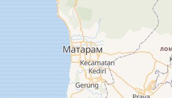 Матарам - детальна мапа