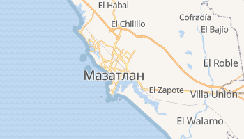 Мацатлан - детальна мапа