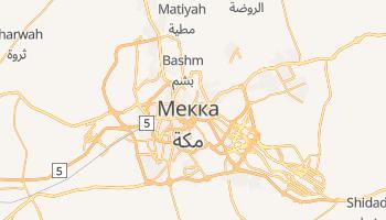 Мекка - детальна мапа