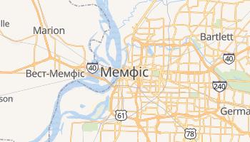 Мемфіс - детальна мапа