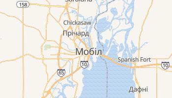 Мобіл - детальна мапа