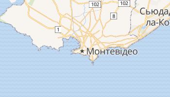 Монтевідео - детальна мапа
