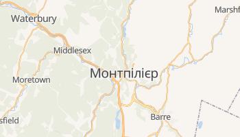 Монпельє - детальна мапа