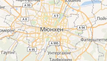 Мюнхен - детальна мапа