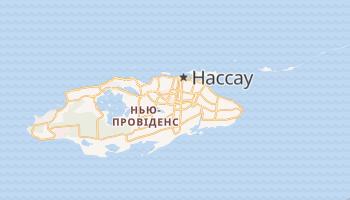 Нассау - детальна мапа