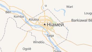 Ніамей - детальна мапа