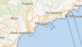 Ніцца - детальна мапа