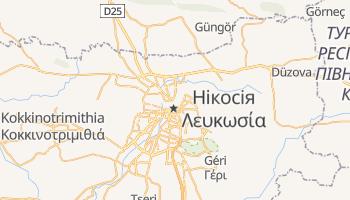 Нікосія - детальна мапа
