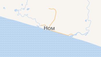 Ном - детальна мапа