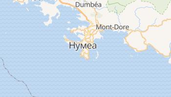 Нумєа - детальна мапа
