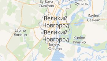 Новгород - детальна мапа