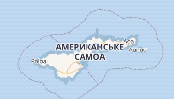 Паго Паго - детальна мапа