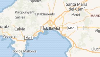 Пальма де Майорка - детальна мапа