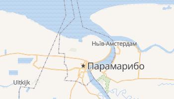 Парамарібо - детальна мапа